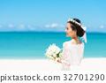 新娘 婚禮 海 32701290