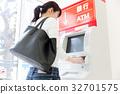 银行ATM便利店 32701575