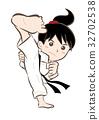 Karate · Girl H 32702538