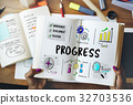 business diagram progress 32703536