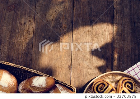 Variation of homemade baked pastry cuisine 32703878
