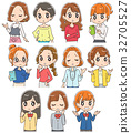 female, females, lady 32705527