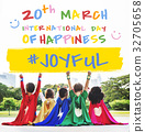 International Day Of Happiness Concept 32705658