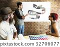 Home Repair Renovation Interior Design Concept 32706077