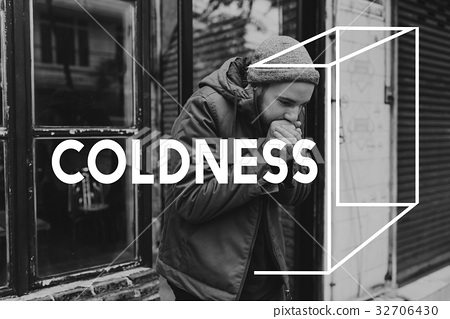 Coldness Winter Weather Season Climate Box Graphic 32706430