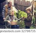 People Planting Harvest Garden Green 32706735