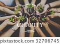 community, service, hands 32706745