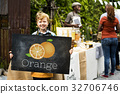 Illustration of vitamin nutritious orange healthy food 32706746