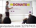 community, service, donation 32707435