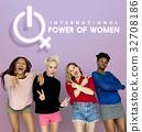 Women International Day Celebration Concept 32708186