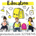 School Institute Study Learning Concept 32708745