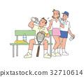 网球 人 人物 32710614