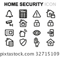 security, home, vector 32715109
