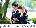 นักธุรกิจ (แท็บเล็ตพีซี) 32720034