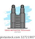 Illustrator of Tokyo Metropolitan Goverment.Vector 32721907