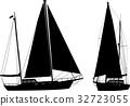帆船 船 航海 32723055