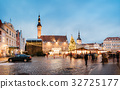Christmas Market On Town Hall Square In Tallinn 32725177