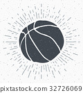 basketball label sketch 32726069