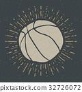 ball basketball label 32726072