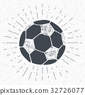 sketch vector football 32726077