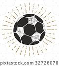 sketch vector football 32726078