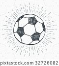 sketch vector soccer 32726082