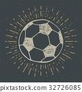 sketch vector football 32726085