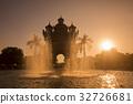 LAOS VIENTIANE PATUXAI ARCH 32726681