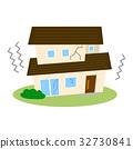 บ้าน,ภัยพิบัติ,แผ่นดินไหว 32730841
