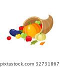 cornucopia, horn, abundance 32731867
