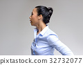 asian woman action in business look 32732077