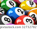Billiard balls 32732782