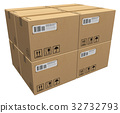 상자, 판지, 패키지 32732793