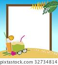 휴일, 배경, 모래 32734814