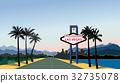 Las Vegas skyline Travel USA background. Landscape 32735078