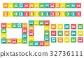 变形的汽车图标装饰裁决 32736111