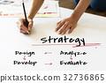 business illustration plan 32736865