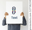 Paper Clip Mail File Attachment Graphic 32738230