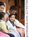 가족, 소녀, 소년 32740766