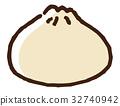 chinese, dumpling, steamed 32740942