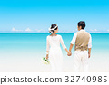 bride, wedding, blue 32740985