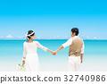 新娘 婚禮 海 32740986