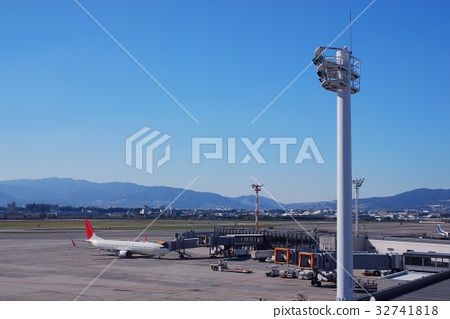 Lighting Tower and Itami Airport 32741818