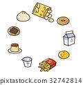 먹거리, 식품, 포테이토 칩 32742814