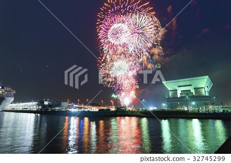firework, fireworks, summer 32745299