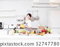 廚房美食女士家庭主婦烹飪課生活方式 32747780