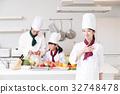 요리사 요리사 요리 교실 요리 주방 여성 32748478