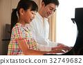 피아노 레슨 친자 32749682