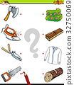 match objects educational activity game 32750069