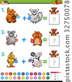 addition educational maths activity for kids 32750078